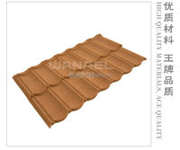 Light weight ceramic metal roof tiles terracotta red roof tile