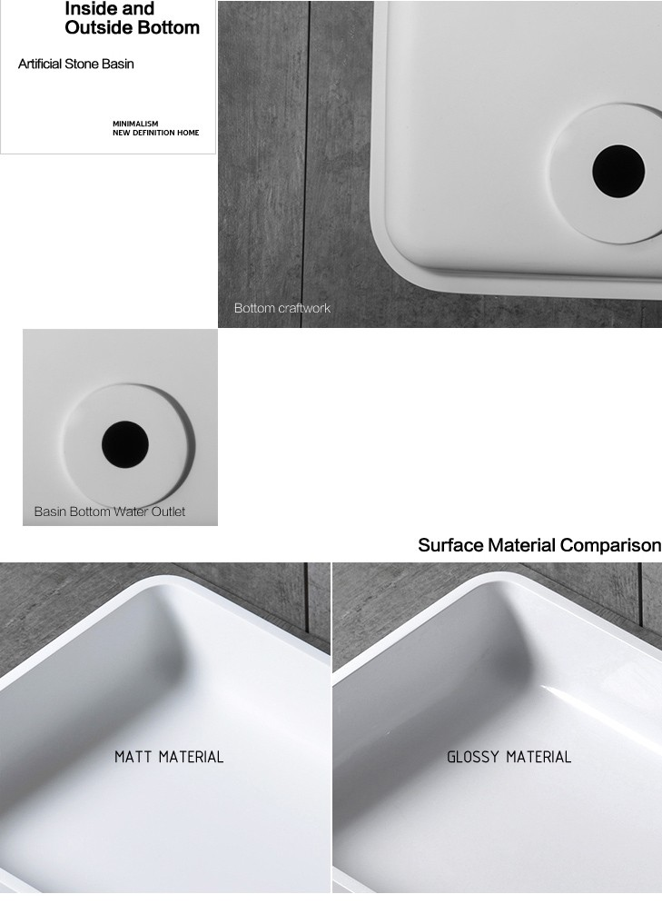 Artificial stone bathtop