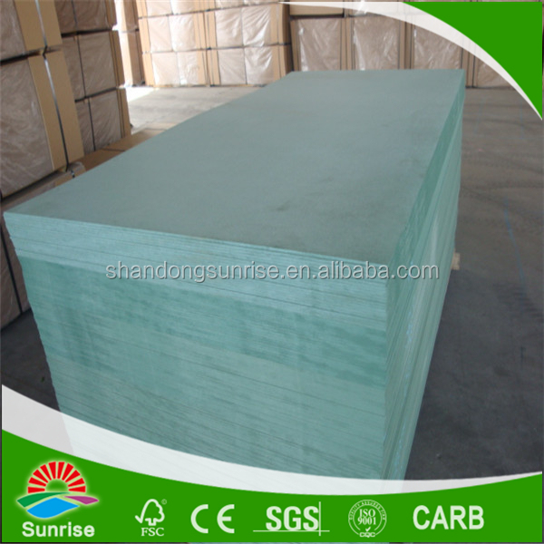 Green Core Of Water Resistant Mdf Board Size 1220x2440x12