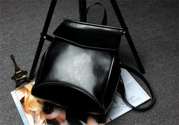 Hot fashion leather backpack for Young Ladies ,high quality backpack manufacturers from china _9