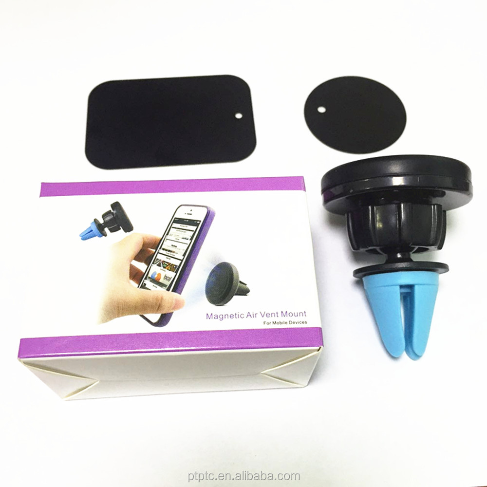 Exhibition Promotional magnetic phone car holder for Car gas vent