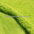 Weft circular sherpa fabric/100% Polyester weft knitting fabric