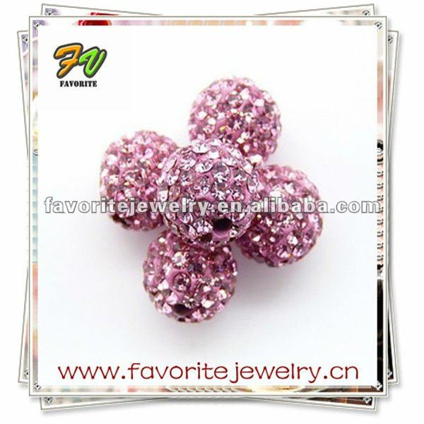 loose micro pave beads for bracelet