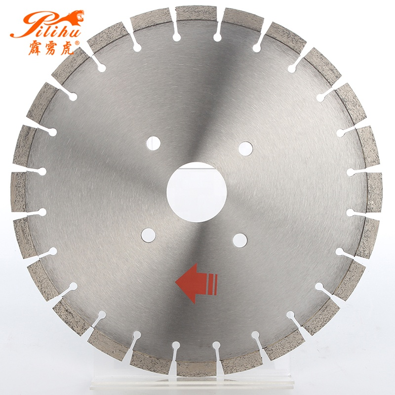 <strong>14</strong>'' High Production Diamond Segments Circular Saw Blade For Cutting Concrete