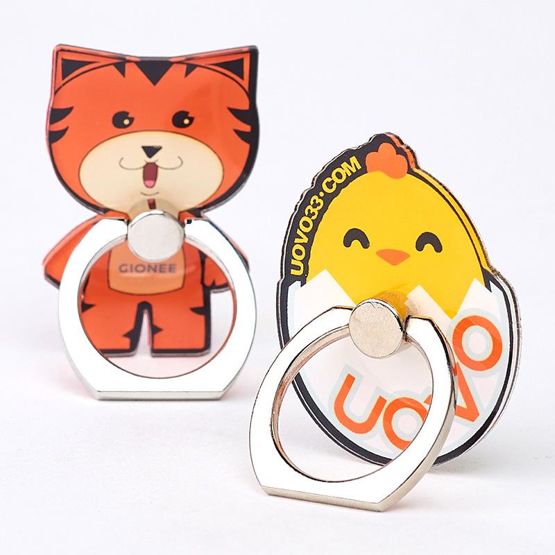 Acrylic lazy mobile phone ring holder custom - ANKUX Tech Co., Ltd