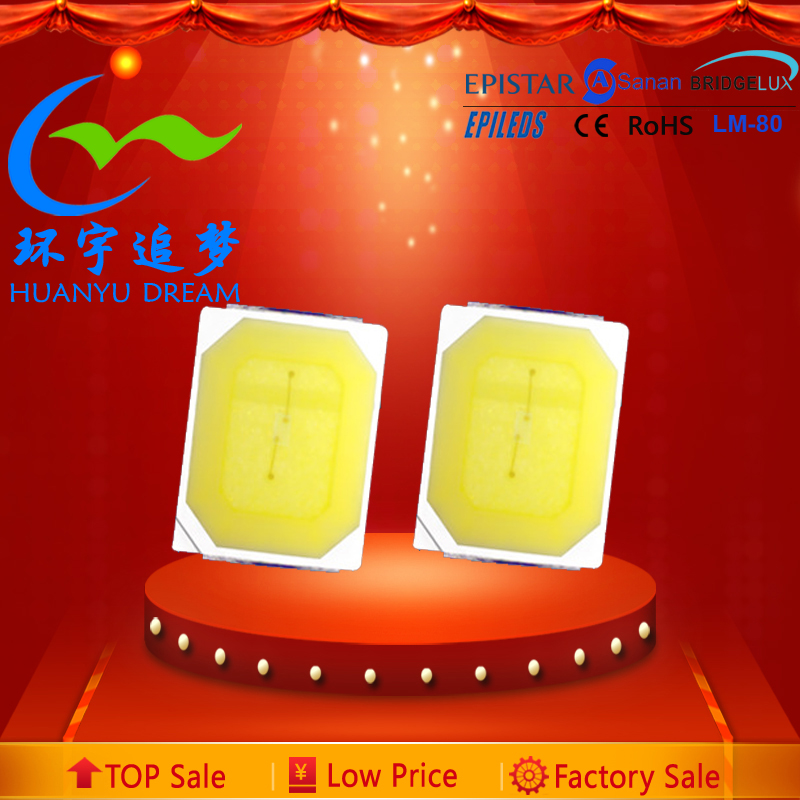 High Voltage warm white 0.3w 2835 smd led diode 2835 6v 0.5w