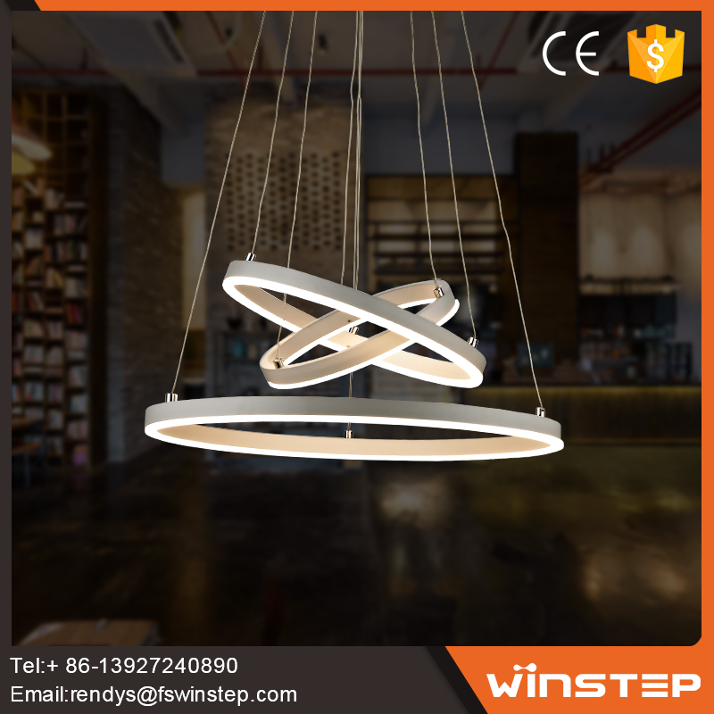 Fancy Iron Led Pendant Light For