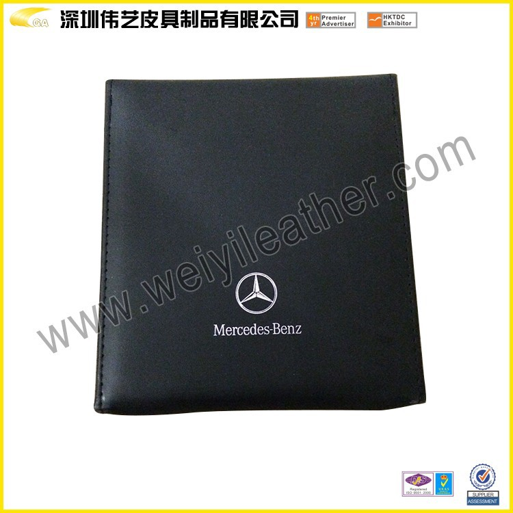 Top Quality Wholesale Elegant Fashion Hot Sale Personalized Leather Custom Fancy CD Slot Mount Holder