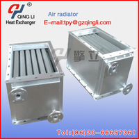 good heat condition water to air heating exchanger auto aluminium radiator machine in industrial