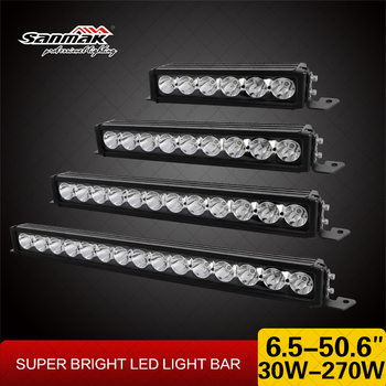 Sanmak NEW 10w CREE Wholesale 180w LED Bar Light Mounting Bracket LED Offroad Light Bar for Off Road