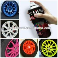 450ml Colorful Peelable Multi Purpose High Adhesion Car Coat
