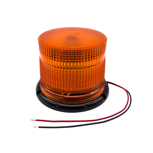 24V 60W amber led warning beacon light for forklift tow fire truck construction vehicle