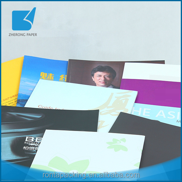 High quality OEM color art paper soft cover custom journal book printing