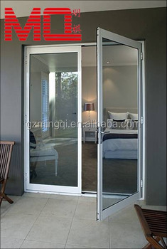 Aluminum Frame Double Swing Glass Door Mq Em101 Buy