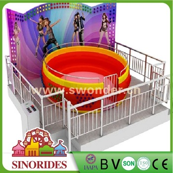 NEW attractive Indoor kids amusement rides for sale mini tagada amusement ride