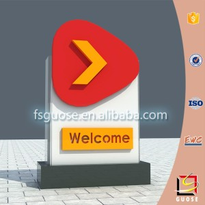 Gas station led display board pylon signs outdoor gas station led price sign