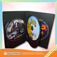 2013 hot sale new design dvd packaging