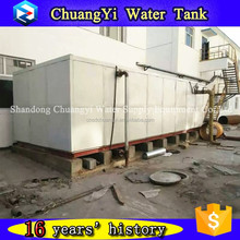 Chuangyi 1-2000m3 galvanized bolted steel cage ibc tank for water System