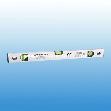 Silver anodized surface spirit level MTO020