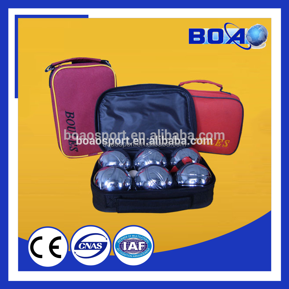 Lawn bowl ,Bocce Game, 6 Boccia Ball set in Carry Bag