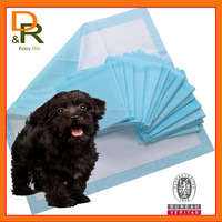 puppy training pad with imported fluff pulp adhesive dog pee doggie pad
