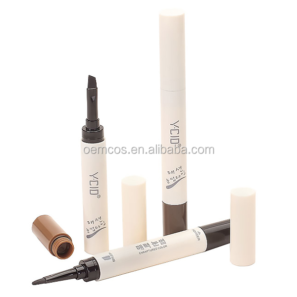 Eyebrow Gel Enhancer Waterproof Make Up Cosmetic Natural Eyebrow Gel With Brush