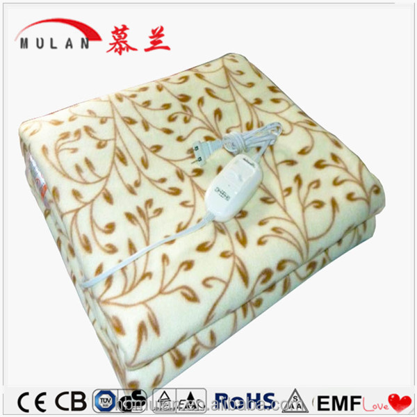 Hot Sale Soft Cheap Flannel Thermal Massage Electric Blanket
