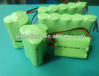 size AA 2000mah 12v nimh battery pack