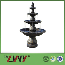 68 Inches polyresin resin 4 tier outdoor fountain