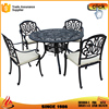 Casual Living Sectional Cushioned Cast Aluminum