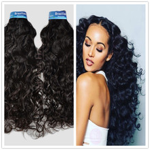 Alibaba 2017 new arrival spanish curl wave brazilian virgin hair natural black human hair extensions for black women