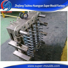 2015 pvc preform mould with 1 cavity hot runner valve gate pco 28mm neck preform