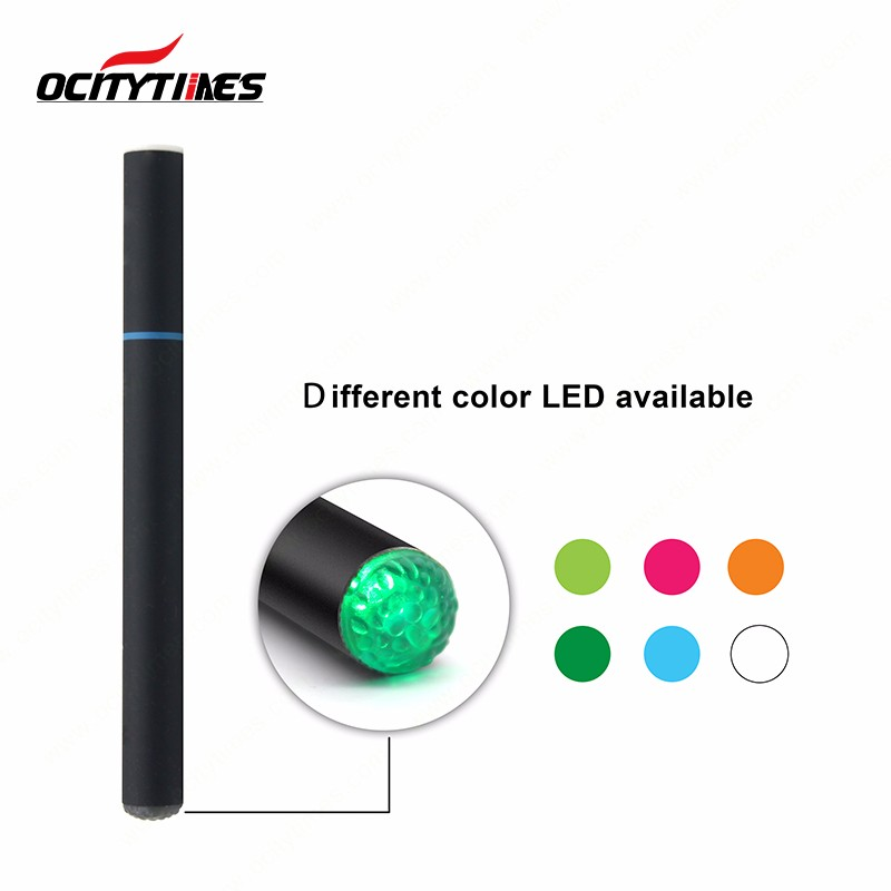 Men Custom Vaporizer Pen Stickers Disposal Cap Color Changing Light E Cigarette Distributor in China