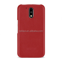 TETDED Premium Luxury Leather Flip Case Cover for Moto G4 Plus