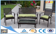 Quickest Delivery Time 4pcs Fashion Leisure Ways Patio Furniture