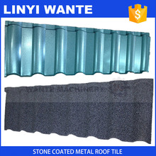 colorful stone coated metal roof tile, roofing shingle, aluminum zinc panel roofing tile
