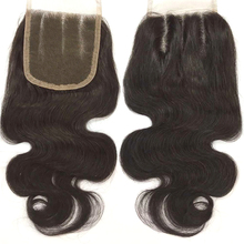 Top lace closure high quality natural hair line brazilian hair closure free part lace closure