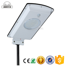 Hot sale energy saving automatic 10w solar led street light control system