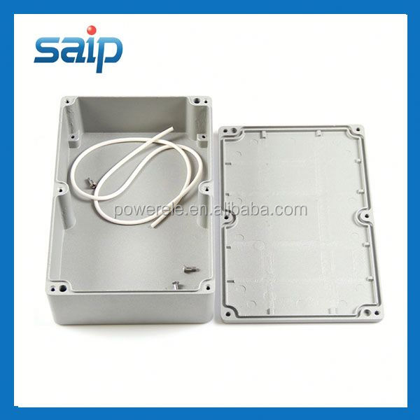 Super Quality 222*145 *55mm Sealed Aluminium control panel box Outdoor Use