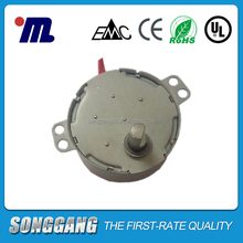 Dia 49mm Magnet AC Small Motor 60rpm 110v CW/CCW rotation 4W Synchronize motors electrical