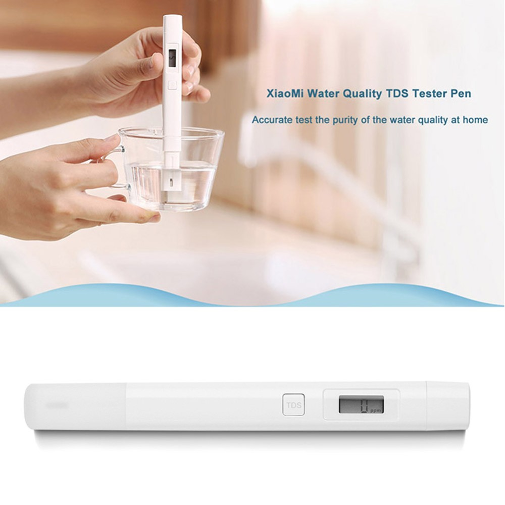 Original Xioami TDS Water Quality Meter Tester Pen Digital Measuring Water Quality Purity Tester