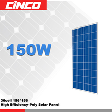 polycrystalline 150w 18v solar panel with competitive price