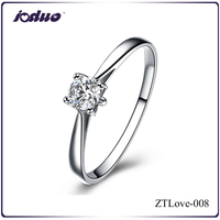 925 Sterling Silver Women Love Of Butterfly Design Rings