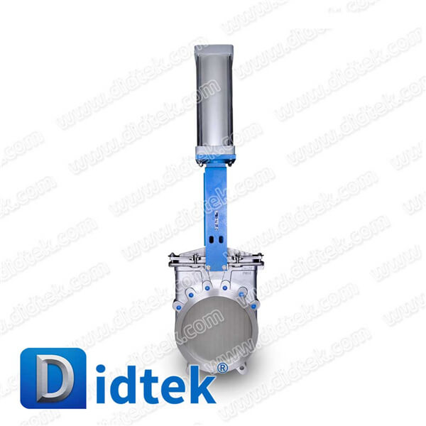 Pneumatic actuator Knife Stainless Steel Gate Valve