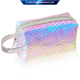 China Wholesale Makeup Pouch Glitter Makeup Bag Hologram Cosmetic Bag