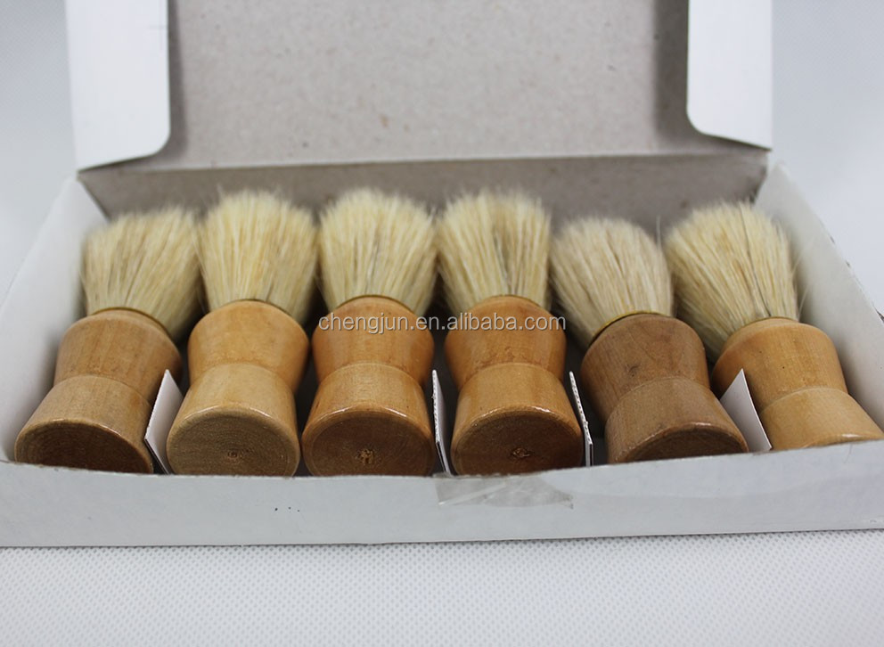 Wood Handle Black Pure badger Hair shaving brush 920
