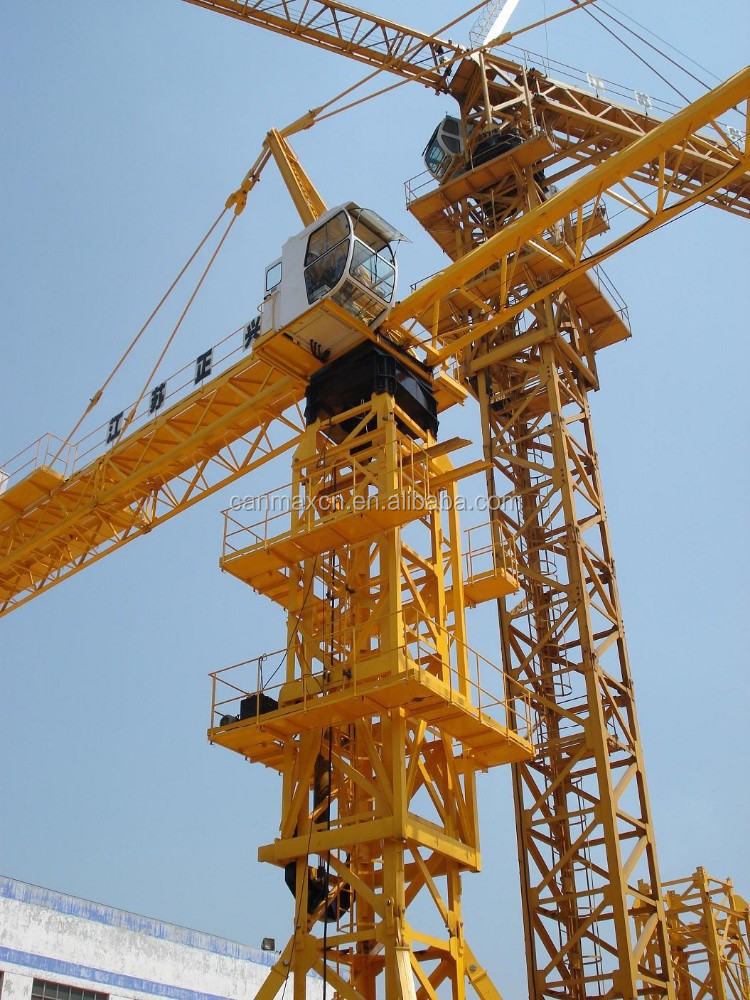 CANMAX MOBILE CRANE TOWER CRANE ON SALE BUILDING LIFT