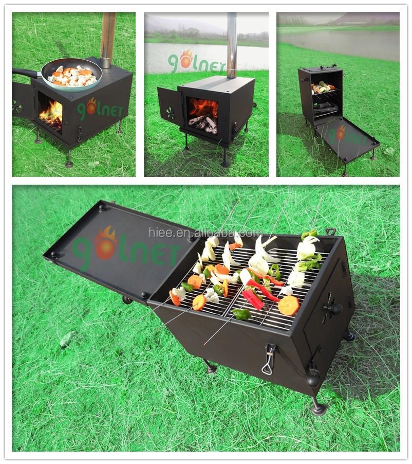 Outdoor portable camping stove, wood fire places, oil camping stoves with china manufacturer