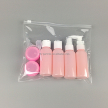 Cosmetic Plastic Packaging acrylic luxury travel containers for cosmetics
