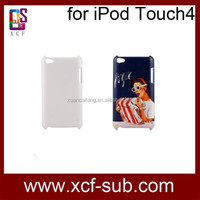 3d sublimation case for Ipod touch4,3d sublimation cover for Ipod touch4